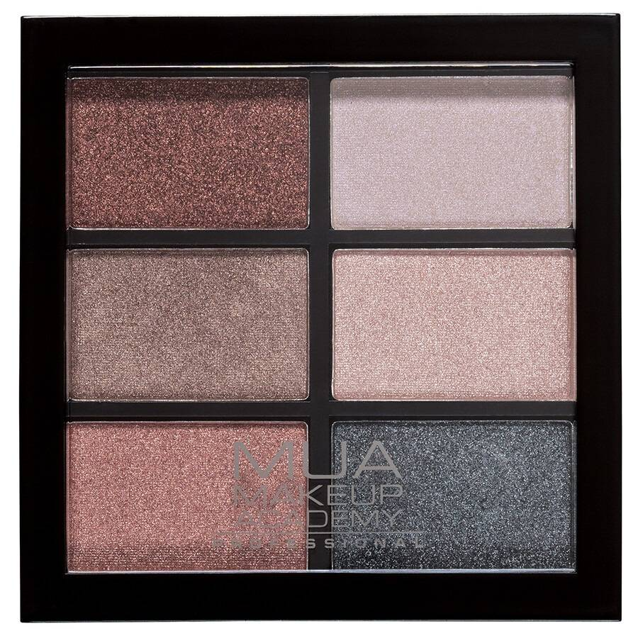 mua make up academy dusky curiosities mua essential 6 pan-palette ombretti palette ombretti 12g