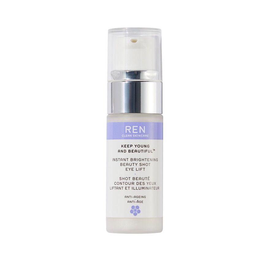 ren clean skincare istant brightening beauty shot eye lift trattamento occhi 15ml