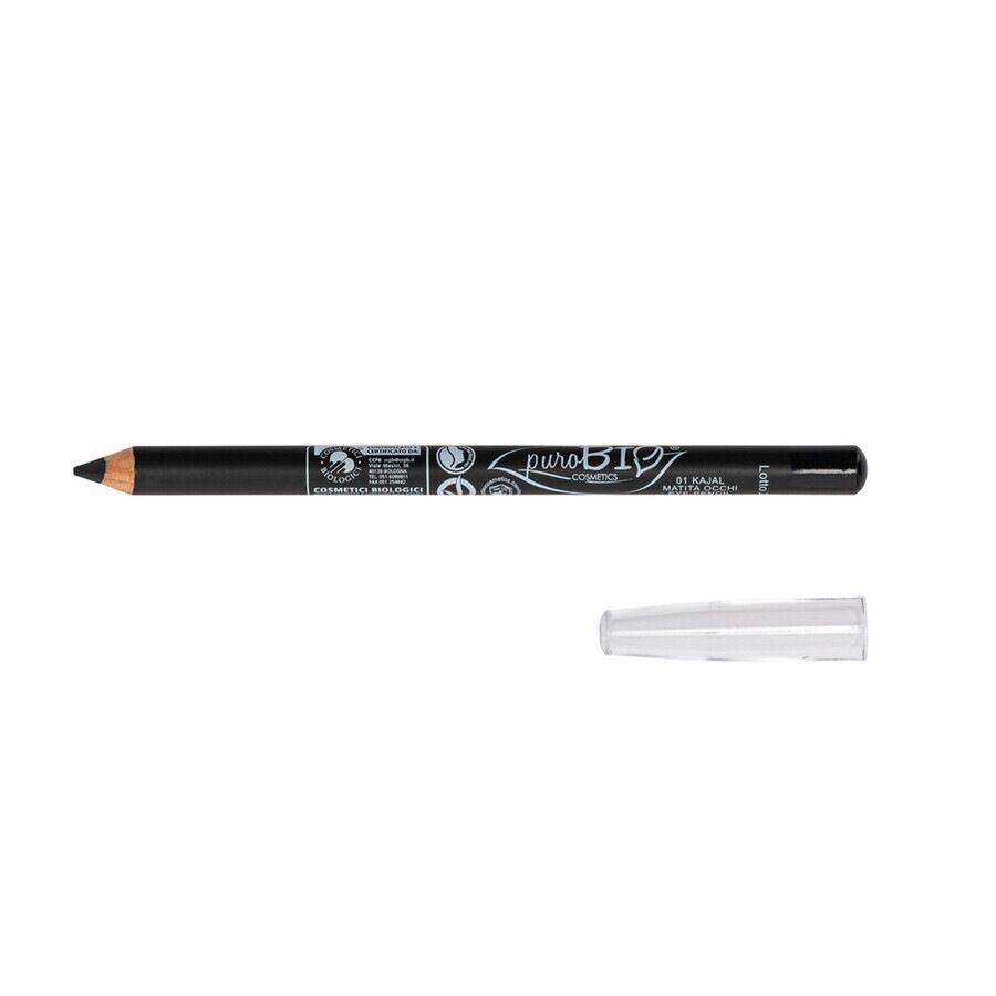 purobio 01 nero kajal matita occhi 1.3 g