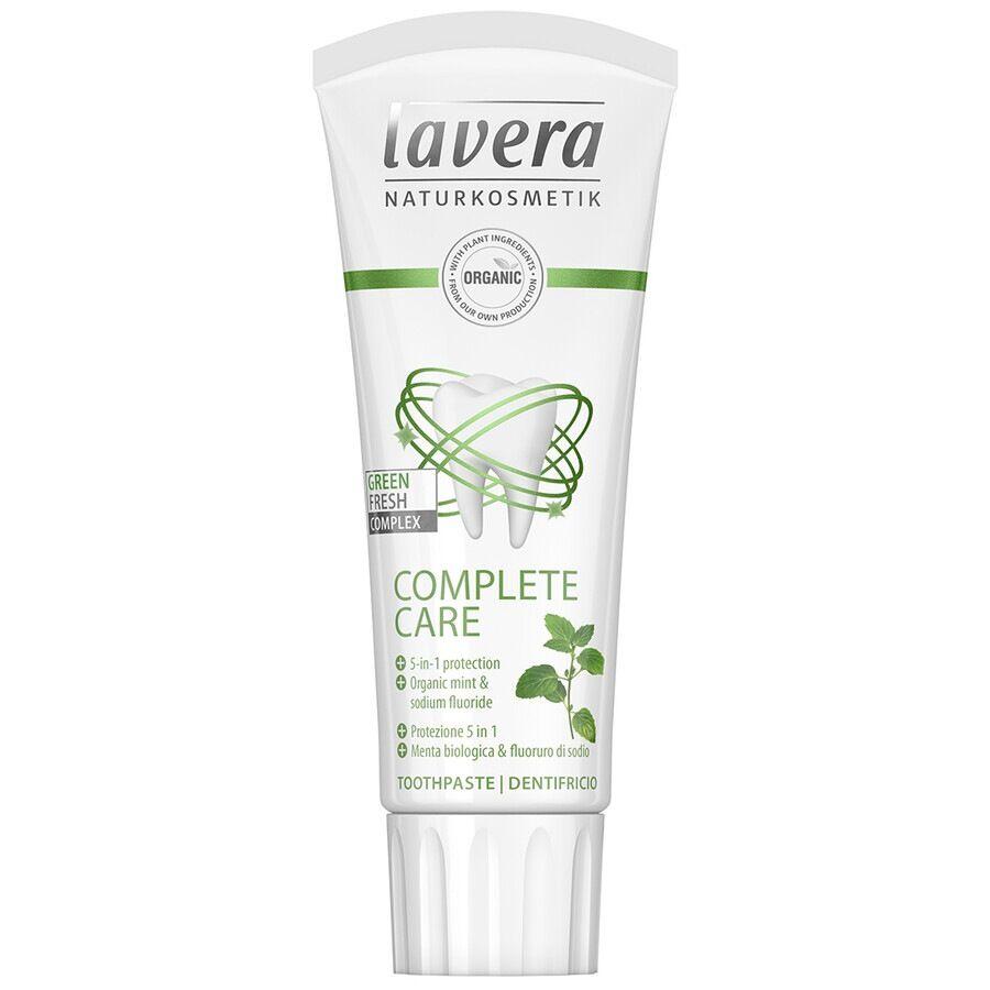 lavera dentifricio complete care con fluoruro 75ml