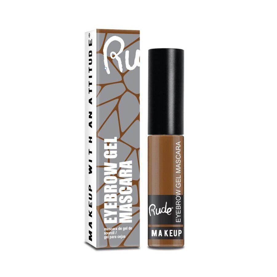 rude cosmetics natural brown eyebrow gel mascara gel sopracciglia 8g