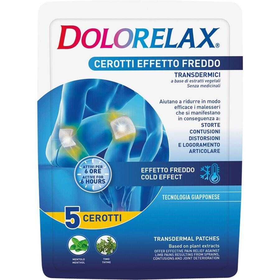 Dolorelax Cerotto effetto freddo Cerotto Antidolorifico
