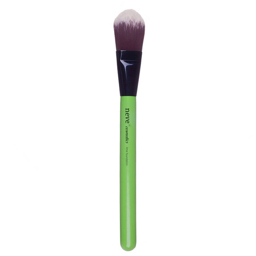 neve cosmetics lime foundation pennello make up