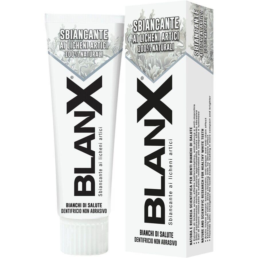 blanx dentifricio sbiancante ai licheni artici 100% naturali 75ml