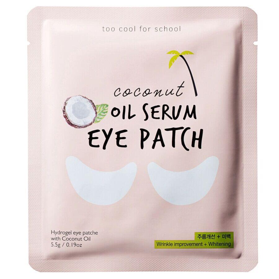 too cool for school coconut oil serum eye patch maschera occhi 5.5 g