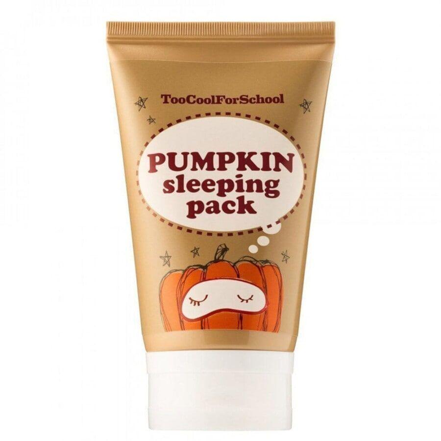 too cool for school pumpkin sleeping pack (mini) maschera viso