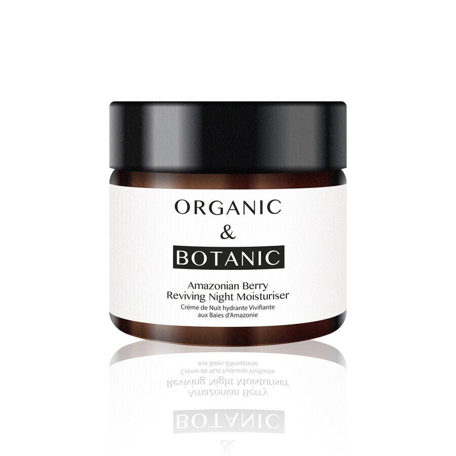 Organic & Botanic OB Crema idratante notturna rigenerante ai frutti di bosco Trattamento Notte 50ml