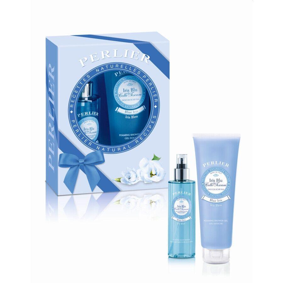 Perlier Iris Blu Water Kit Cofanetto Corpo e Bagno
