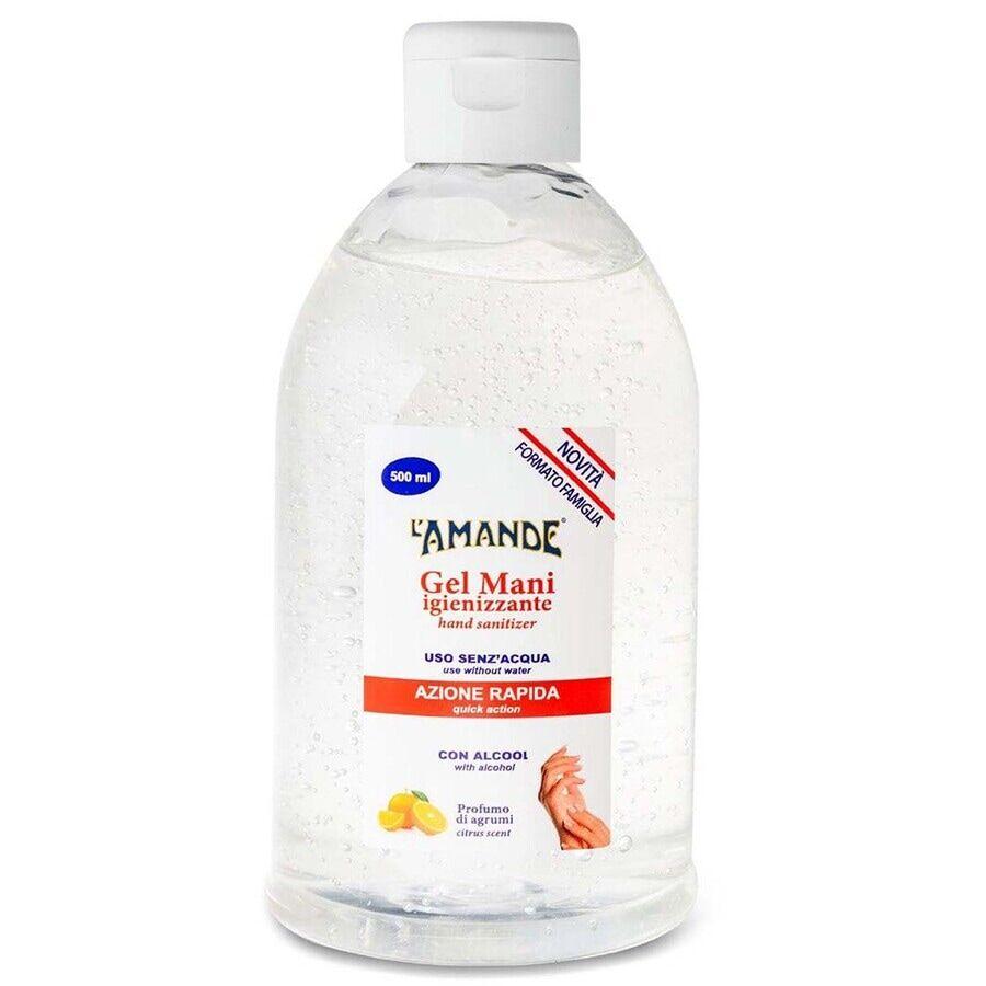 l' amande gel igienizzante mani con flip top 500ml