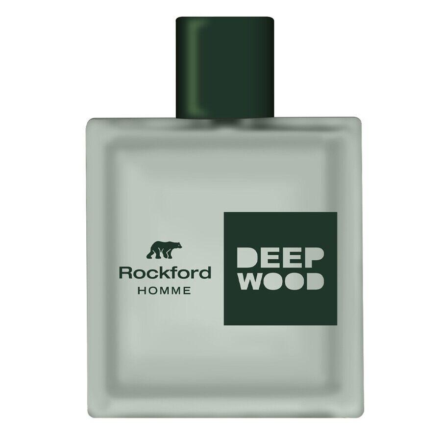rockford fragranze maschili  deepwood eau de toilette 100ml