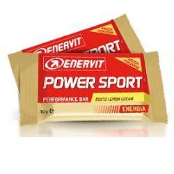 enervit power sport double lemon cream 60g 1 barretta (2 mezze porzioni da 30g)