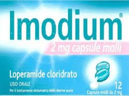 Johnson & Johnson Imodium 12 Capsule Molli 2mg