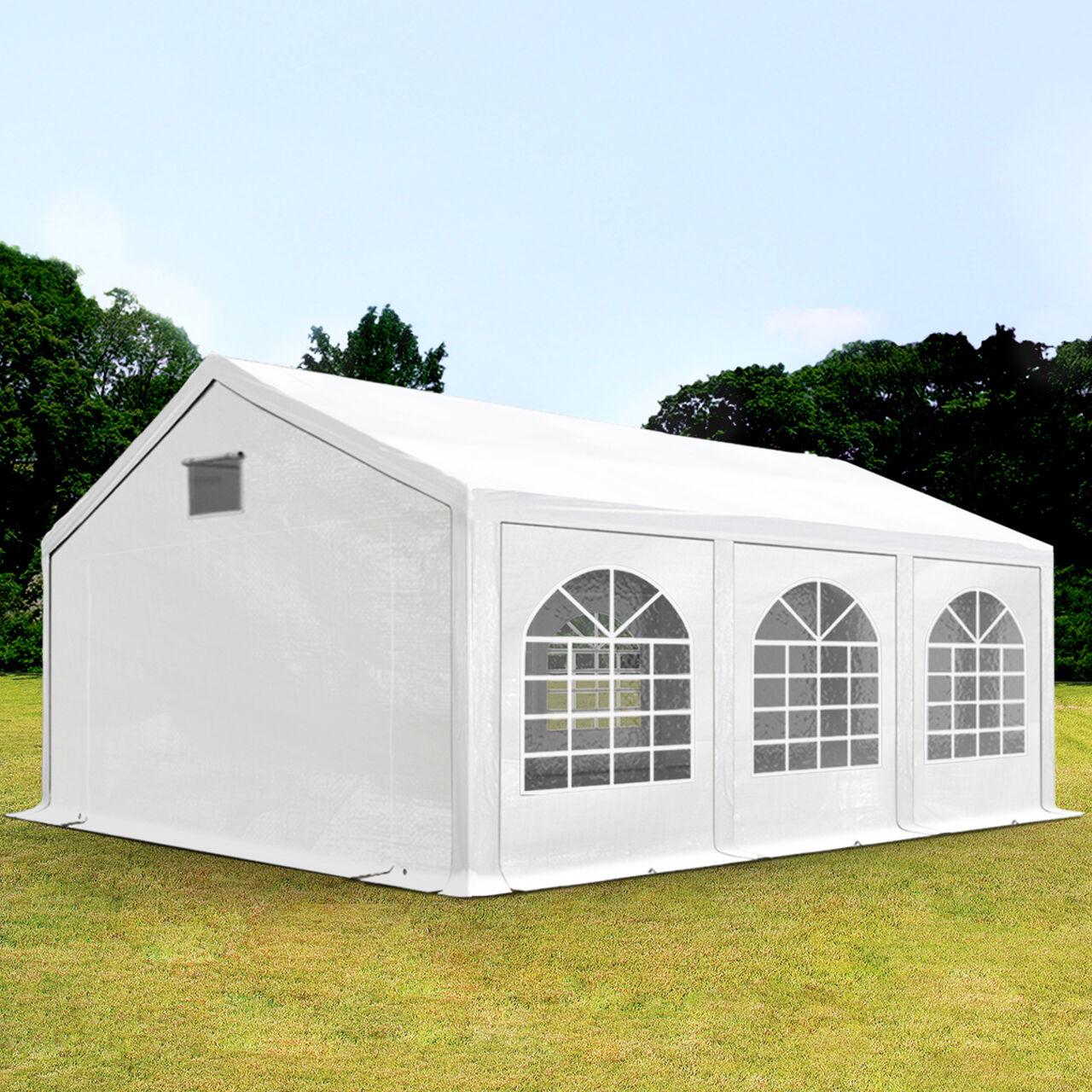 Toolport Tendone per Feste 3x6m PE 300 g/m² bianco sì