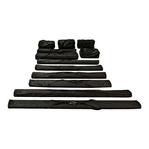 toolport borse da trasporto 5 480g/m² tessuto oxford nero