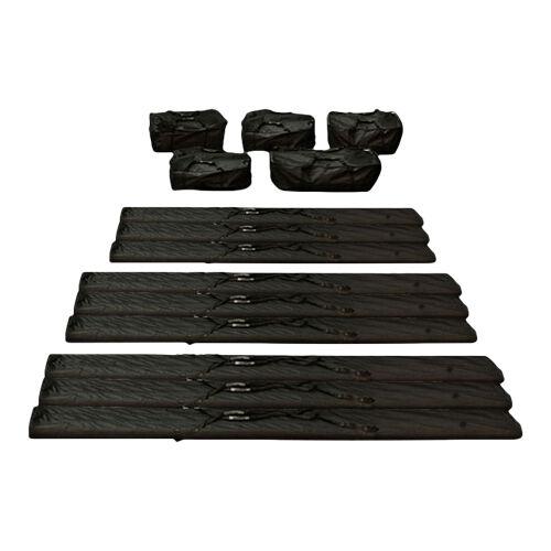 toolport borse da trasporto 8 480g/m² tessuto oxford nero