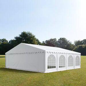 Toolport Tendone per Feste 8x8m PVC 500 g/m² bianco impermeabile