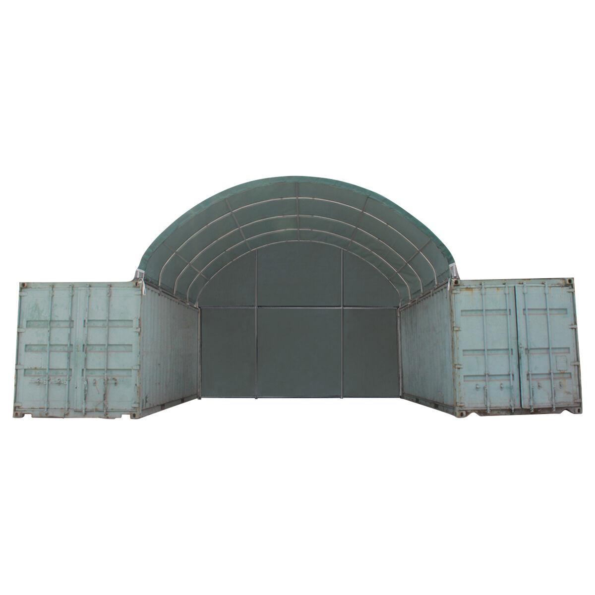 Toolport Tensostruttura Copertura Container 6x*** verde sì