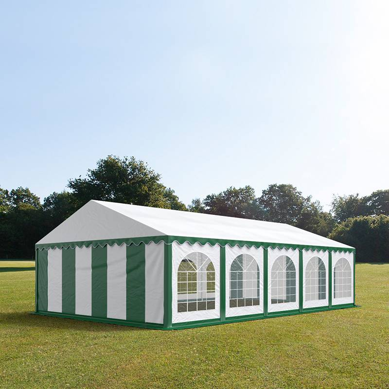 Toolport Tendone per Feste 5x10m PVC 500 g/m² bianco impermeabile