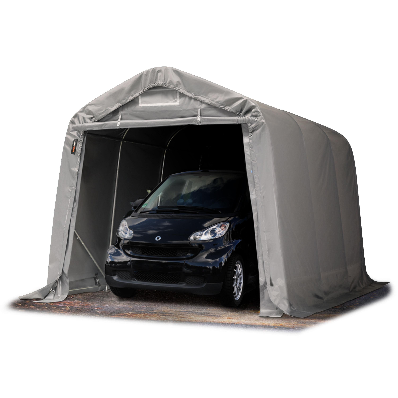 Toolport Tenda Garage 2,4x3,6m PVC 550 g/m² grigio sì