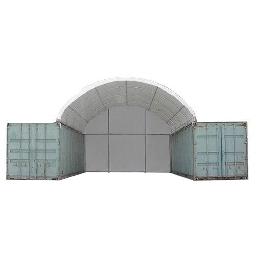 Toolport Tensostruttura Copertura Container 10x*** bianco sì