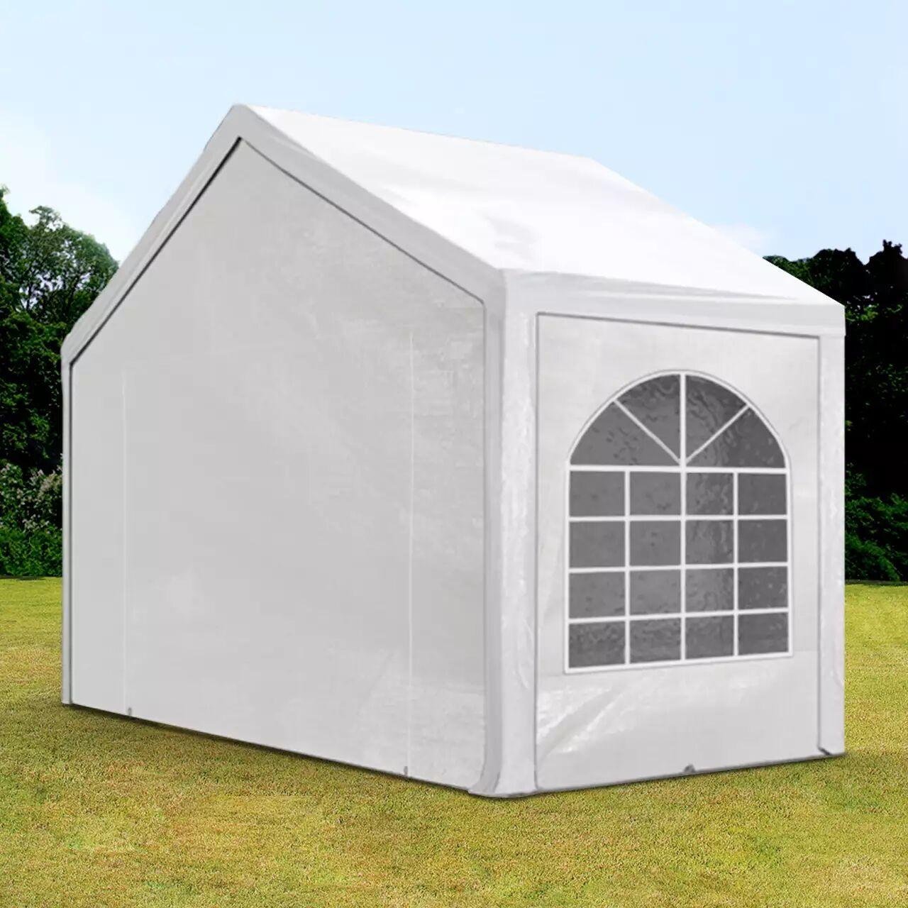 Toolport Tendone per Feste 3x2m PE 240g/m² bianco sì