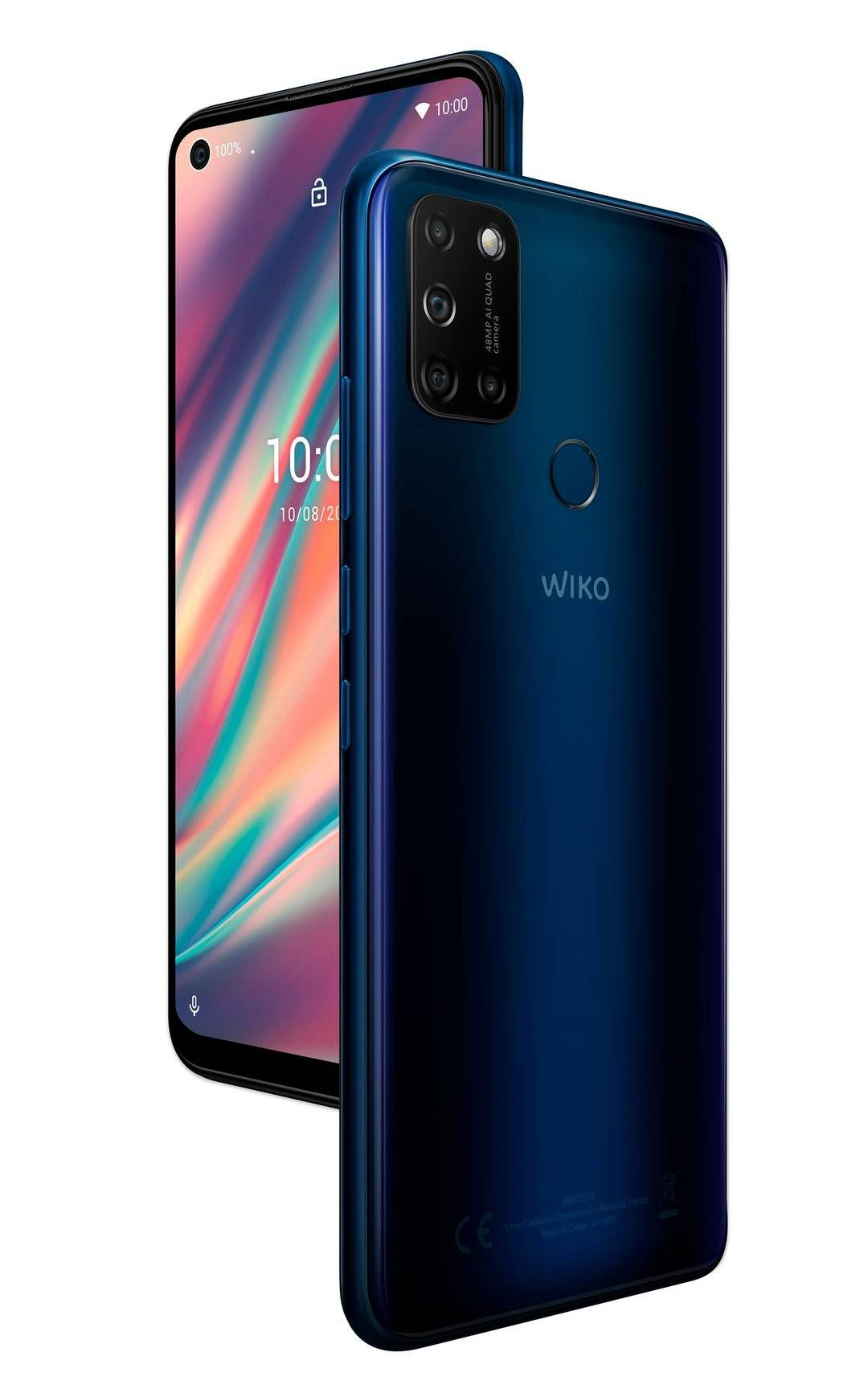 """Wiko Smartphone View 5 Plus (6.55"""") 4gb 128gb 4g Lte Android 10 Dual Sim - Blu [Wikviepluwv8blust]"""