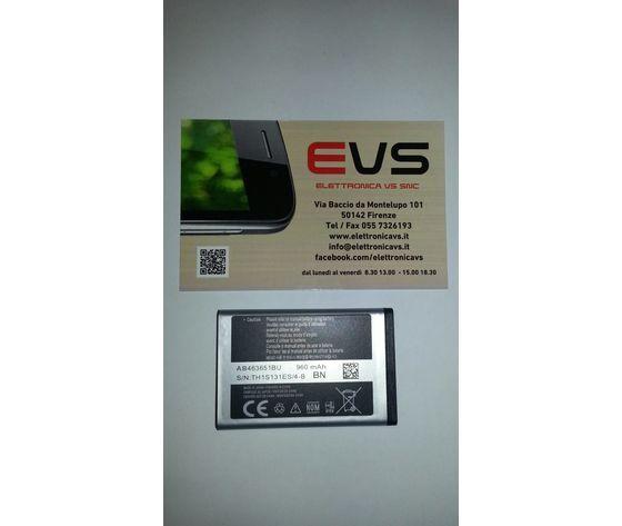 Samsung Batteria Originale Ab463651bu In Bulk 3,7v 960mah Per S5610 M7500 C3330 L700 B3410 C6112 M5650 S5550 Ecc