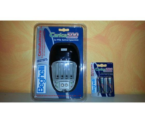 Beghelli Caricabatterie Beghelli Carica 500 Per Batterie Nimh Cod. 8850 + Omaggio