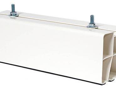 VecamCo Mensola PVC per split a pavimento cm.45