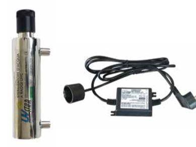 idro service lampada sterilizzatrice uv eco-ministar