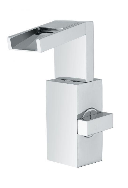 """Oioli Monocomando lavabo scarico automatico 1"""" 1/4 serie CASCADE"""