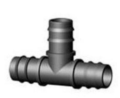 rain tee portagomma diam 16x16x16mm per tubo polietilene