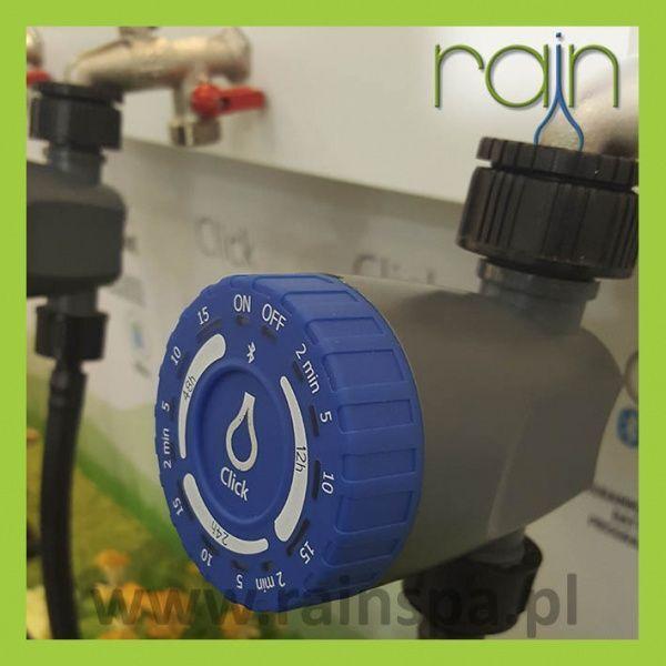 Rain Centralina da rubinetto con elettrovalvola incorporata Rain Click Bluetooth