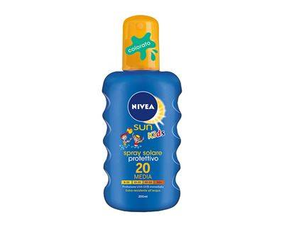 Nivea Color Spray Solare SPF 20 - Nivea Baby