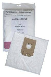 Siemens VCBS118V00 sacchetti raccoglipolvere Microfibra (10 sacchetti, 1 filtro)