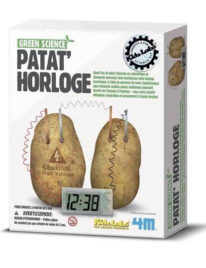 VegaooParty.it kit scientifico orologio a patate