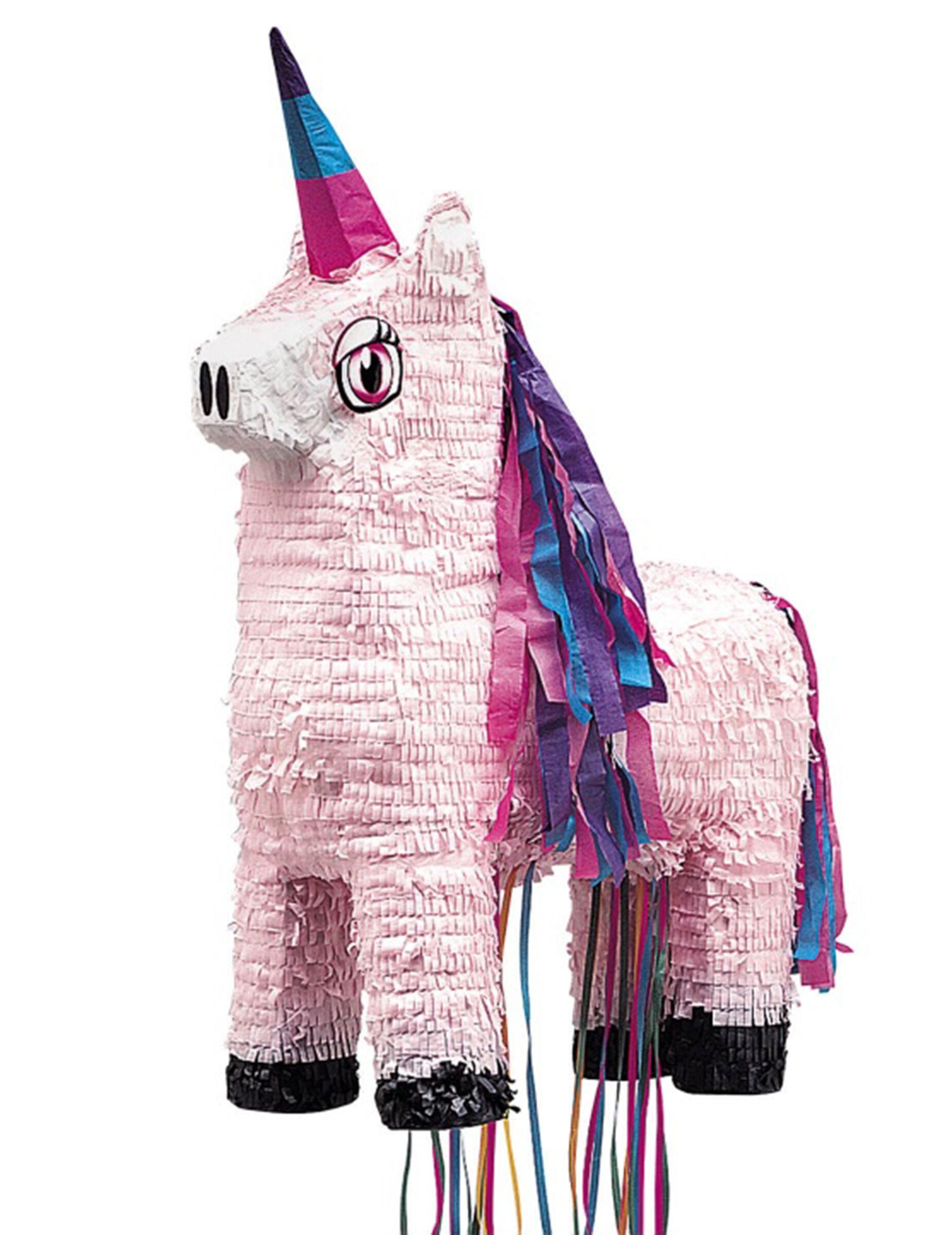 VegaooParty.it Pignatta in cartone unicorno rosa