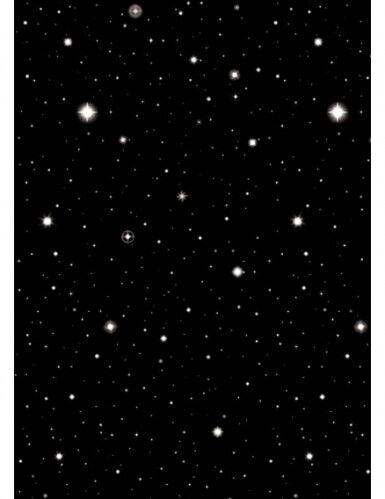 Rotolo decorativo cielo stellato