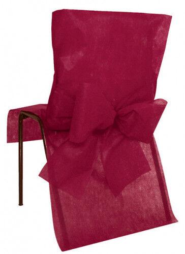 10 Coprisedie Premium color bordeaux