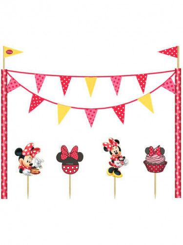 Set di decorazioni per torta a tema Minnie