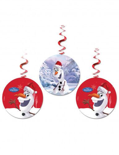 3 addobbi natalizi da appendere Olaf