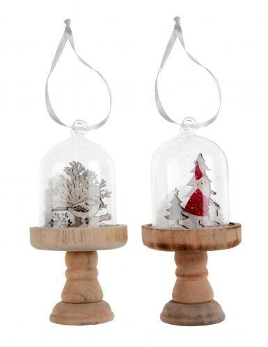 Sospensione di Natale sfera di vetro