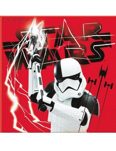 20 tovaglioli di carta Star Wars 8 Gli ultimi Jedi