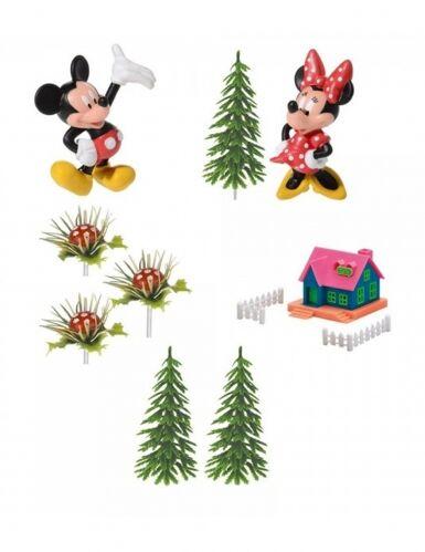 9 Decorazioni per torta Minnie e Topolino