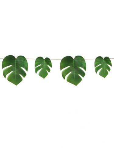 Ghirlanda di foglie tropicali