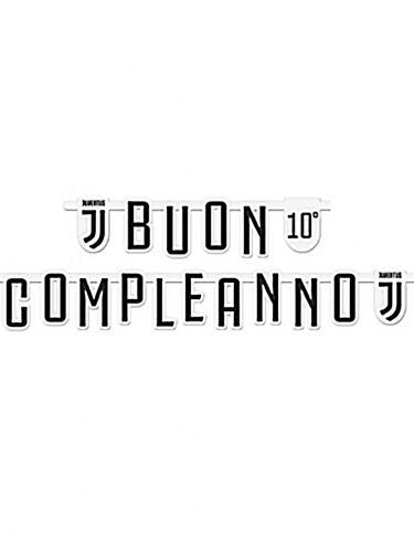 Ghirlanda Buon Compleanno Juventus personalizzabile