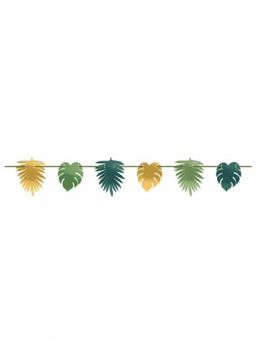 Ghirlanda tropical chic