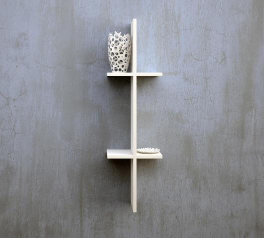 TFT Home Furniture Mensola ME02 frassino bianco