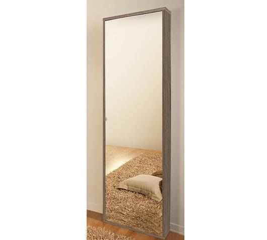 A Zig Zag Scarpiera con anta a specchio Narciso grigia