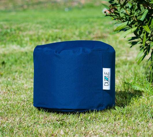 Duzzle Pouf Mini da esterno color Blu Navy